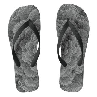 Cord sample grey flip flops