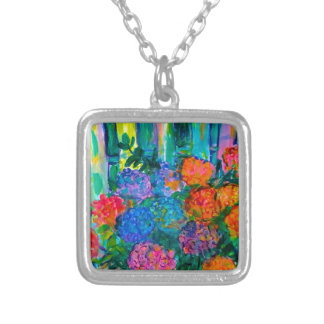 Cordial Silver Plated Necklace