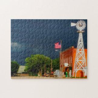 Cordova Nebraska. Jigsaw Puzzle