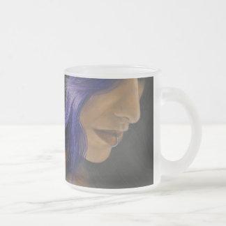 Cordula Frosted Glass Coffee Mug