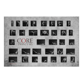 Core 26 Yoga Poster
