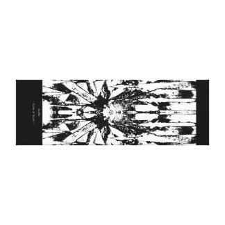 Core of Scorn Canvas Print