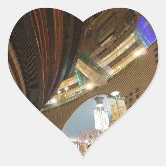 Core Pasific City Mall Heart Sticker