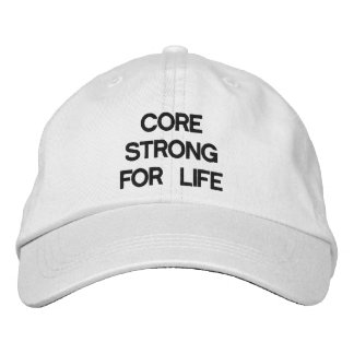 CORE STRONG HAT EMBROIDERED HAT