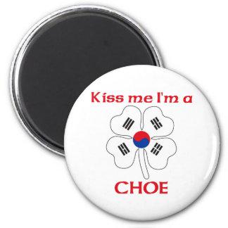 Coréens personnalisés m'embrassent que je suis Cho Aimants Pour Réfrigérateur