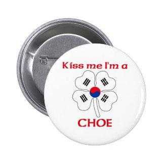 Coréens personnalisés m'embrassent que je suis Cho Badge Avec Épingle