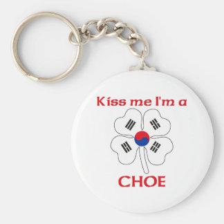 Coréens personnalisés m'embrassent que je suis Cho Porte-clefs