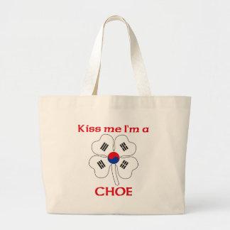 Coréens personnalisés m'embrassent que je suis Cho Sacs En Toile