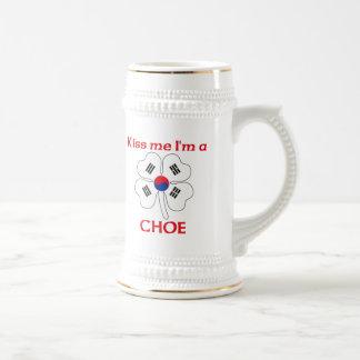 Coréens personnalisés m'embrassent que je suis Cho Mug