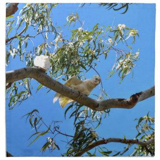 CORELLA BIRD QUEENSLAND AUSTRALIA NAPKIN