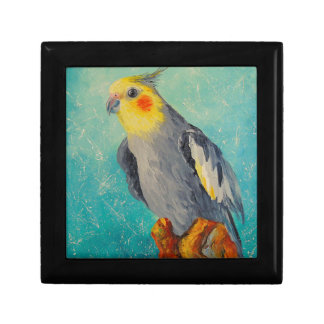 Corella parrot gift box