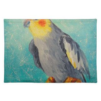 Corella parrot placemat