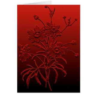 Coreopsis Blank Notecard