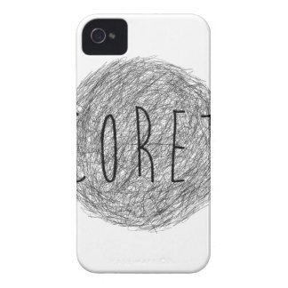 Coret Sketch Logo iPhone 4 Covers