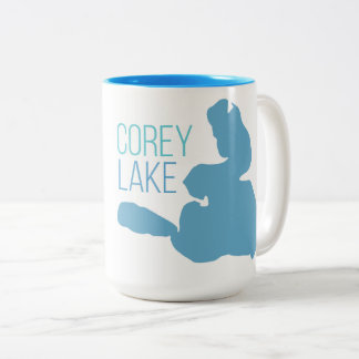 Corey Lake Two-Tone Coffee Mug