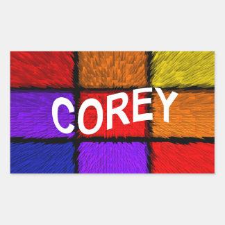 COREY STICKER