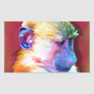 Corey the Baboon Sticker