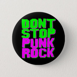Corey Tiger 1980S Retro Don'T Stop Punk Rock 2 Inch Round Button