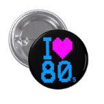 COREY TIGER 1980s RETRO I HEART 80's LOVE