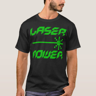 COREY TIGER 1980s RETRO LASER POWER T-Shirt