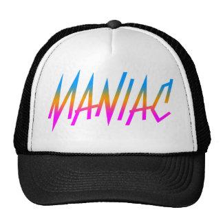 Corey Tiger 1980s Retro Maniac Trucker Hat