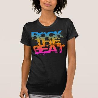 COREY TIGER 1980s RETRO ROCK THE  BEAT T-Shirt