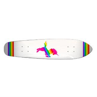 COREY TIGER 80s RETRO VINTAGE UNICORN RAINBOW WHTE Skate Boards
