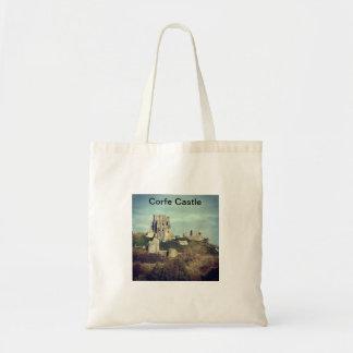 Corfe Castel Tote Bag
