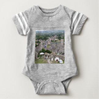 Corfe Castle, Dorset, England Baby Bodysuit