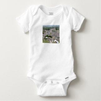 Corfe Castle, Dorset, England Baby Onesie