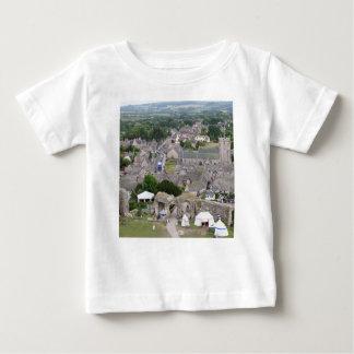 Corfe Castle, Dorset, England Baby T-Shirt