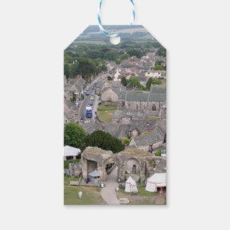 Corfe Castle, Dorset, England Gift Tags