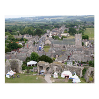 Corfe Castle, Dorset, England Postcard