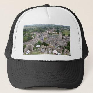 Corfe Castle, Dorset, England Trucker Hat