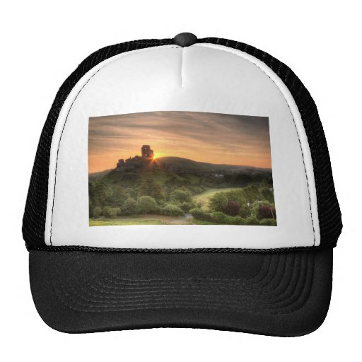 Corfe Castle Sunrise Hats