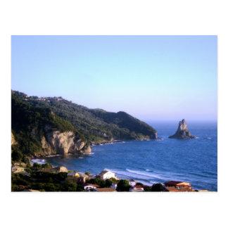 Corfu Island Postcard