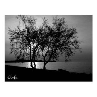 Corfu Times Postcard