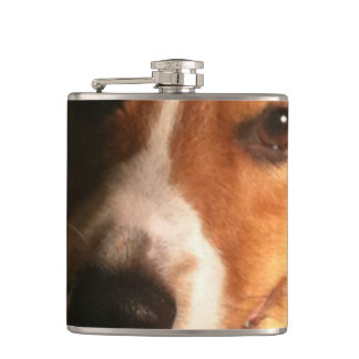 corgi-9 hip flask