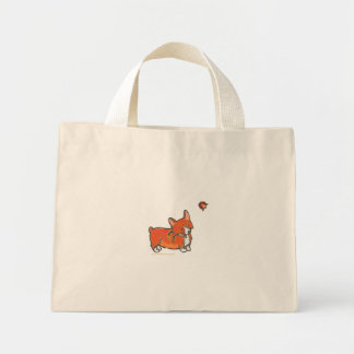 Corgi and Ladybug Bag by Doublefly Design