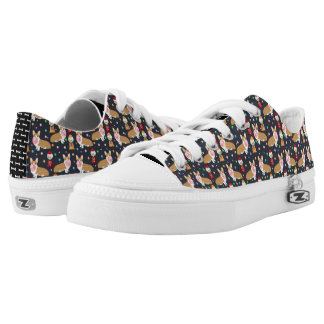 Corgi bubblegum candy - cute bubblegum dog design Low-Top sneakers