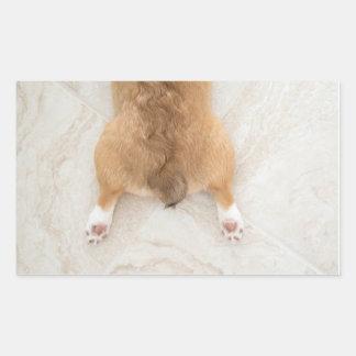 corgi butt sticker