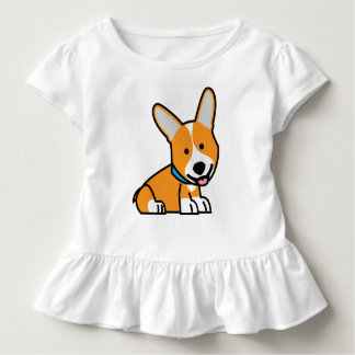 Corgi Corgis dog puppy doggy happy Pembroke Welsh Toddler T-shirt