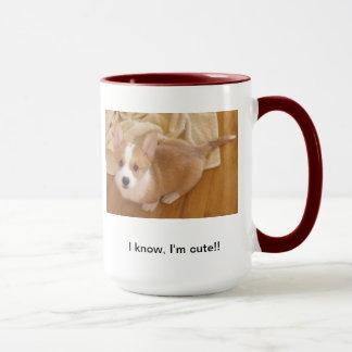 Corgi Cuteness Mug