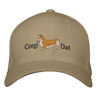 Corgi Dad Embroidered Hat