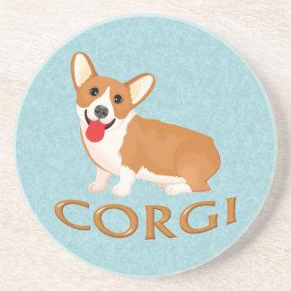 corgi dog coaster