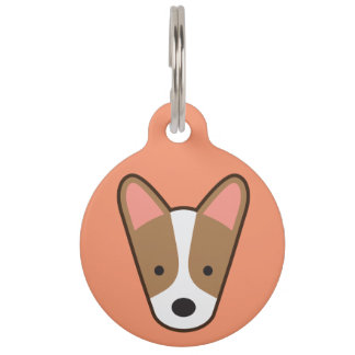 Corgi Dog Tag