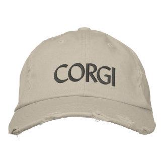 CORGI EMBROIDERED BASEBALL CAPS