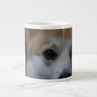 "Corgi ""eye on you"" mug"