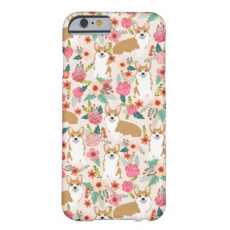 Corgi Floral Patterned Phone Case
