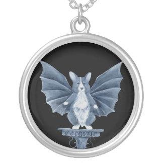 Corgi Gargoyle Necklace